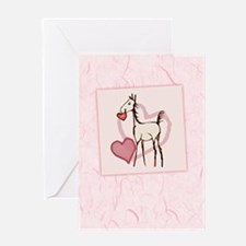 Valentine Horse Greeting Card