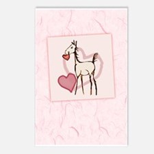 Valentine Horse Postcards (Package of 8)