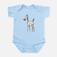 Valentine Horse Infant Bodysuit