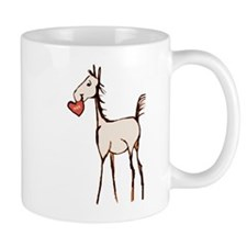 Valentine Horse Mug