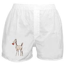 Valentine Horse Boxer Shorts