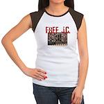 Free J.C. Women's Cap Sleeve T-Shirt