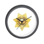 Sutter County Sheriff Wall Clock