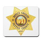 Sutter County Sheriff Mousepad
