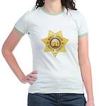 Sutter County Sheriff Jr. Ringer T-Shirt