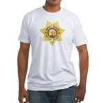 Sutter County Sheriff Fitted T-Shirt