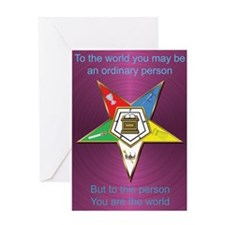 Best Friend OES Greeting Card