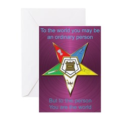 Best Friend OES Greeting Cards (Pk of 10)