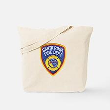 Santa Rosa Fire Tote Bag