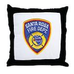 Santa Rosa Fire Throw Pillow