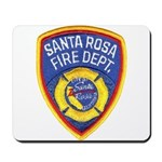 Santa Rosa Fire Mousepad