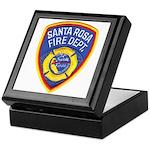 Santa Rosa Fire Keepsake Box
