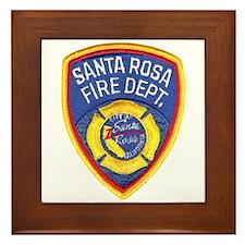 Santa Rosa Fire Framed Tile