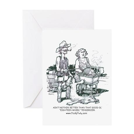 Thrillbilly Greeting Card