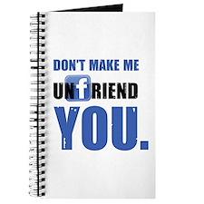 Unfriend Journal