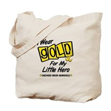 I Wear Gold For My Little Hero 8 Tote Bag