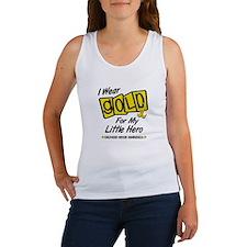 I Wear Gold For My Little Hero 8 Women's Tank Top