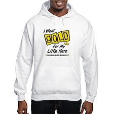 I Wear Gold For My Little Hero 8 Hoodie