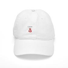Lucky Number 8 Baseball Cap