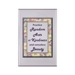 Random Acts Rectangle Magnet (100 pack)