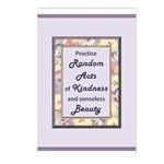 Random Acts Postcards (Package of 8)