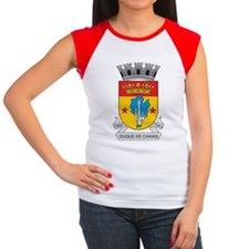 Duque De Caxias Coat of Arms Women's Cap Sleeve T-