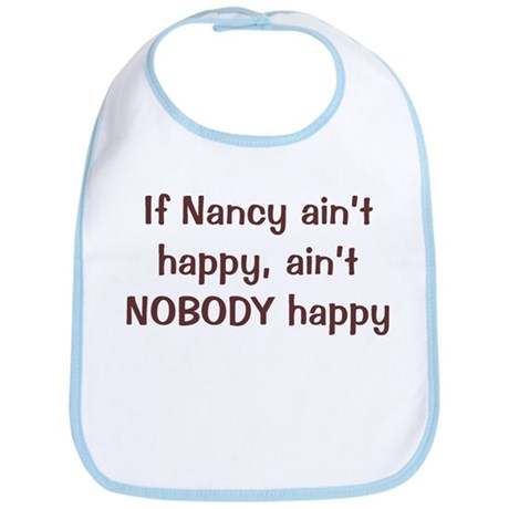 Personalized Nancy Bib