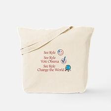 See Kyle Vote Obama Tote Bag