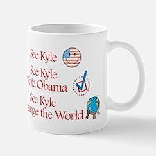 See Kyle Vote Obama Mug