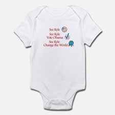 See Kyle Vote Obama Infant Bodysuit