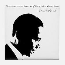 Obama - Hope Tile Coaster