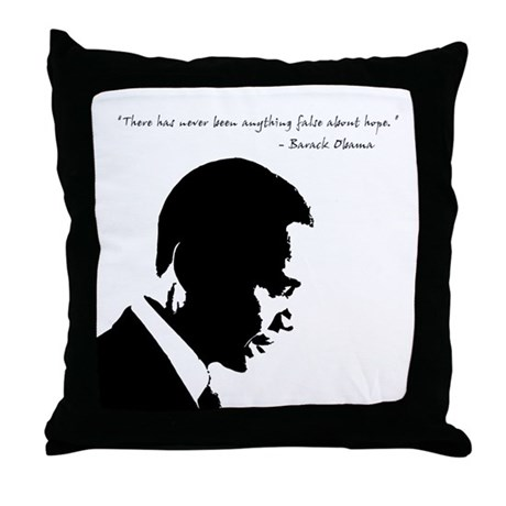 Obama - Hope Throw Pillow