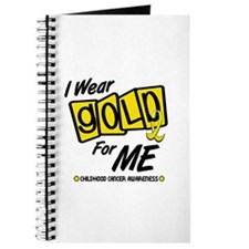 I Wear Gold For Me 8 Journal