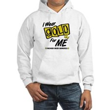 I Wear Gold For Me 8 Hoodie