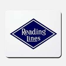 Reading Lines Mousepad