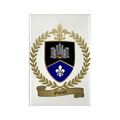 GUERET Family Crest Rectangle Magnet