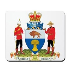 Regina Coat of Arms Mousepad