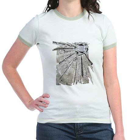 Radial Explosion Jr. Ringer T-Shirt