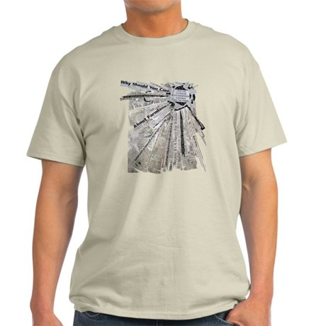Radial Explosion Light T-Shirt