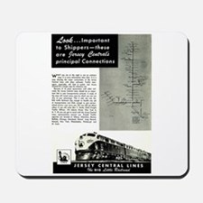 Jersey Central Lines Mousepad