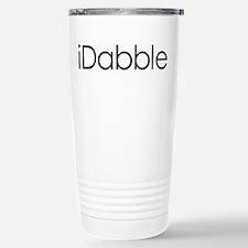 iDabble Stainless Steel Travel Mug