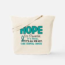 HOPE Cervical Cancer 1 Tote Bag