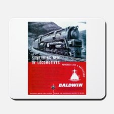 Baldwin S-2 Steam Locomotive Mousepad