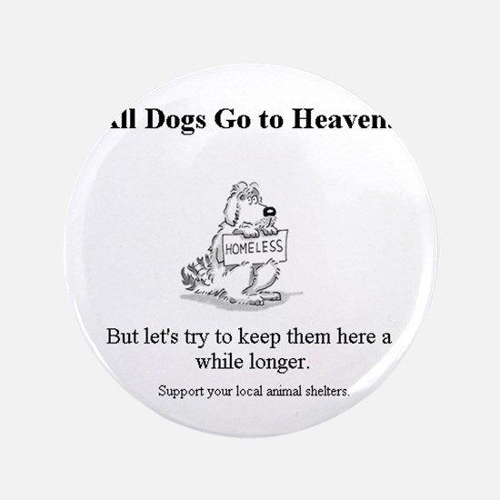 "Cute Charity 3.5"" Button (100 pack)"