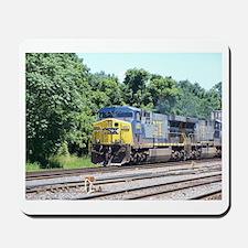 CSX Q190 Doublestack Train Mousepad
