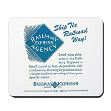 Railway Express Mousepad