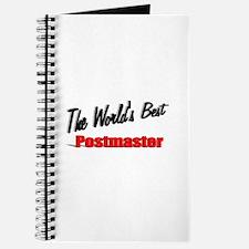 """The World's Best Postmaster"" Journal"