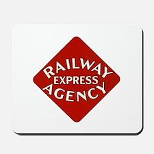 Railway Express Color Logo Mousepad