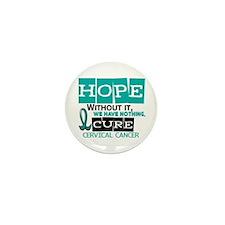 HOPE Cervical Cancer 2 Mini Button (10 pack)