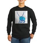 Betty the Beetle Long Sleeve Dark T-Shirt